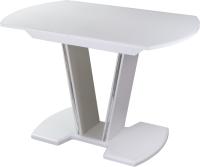 Обеденный стол Домотека Танго ПО-1 80x120-157x75 (белый/белый/03) -