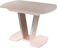 Обеденный стол Домотека Танго ПО-1 80x120-157 (кремовый/молочный дуб/03) -