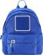 Школьный рюкзак Upixel Funny Square / WY-U18-3/80956 (S, синий) -
