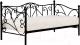 Кровать-тахта Halmar Sumatra 90x200 (черный) -
