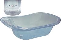 Ванночка детская Эльфпласт 231 со сливным клапаном (белый) -