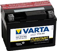 Мотоаккумулятор Varta YT4L-4 YT4L-BS / 503014003 (3 А/ч) -
