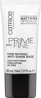 Основа под макияж Catrice Prime And Fine Pore Refining Anti-Shine выравнивающая