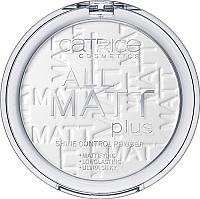 Фиксирующая пудра для лица Catrice All Matt Plus Shine Control Powder тон 001 (10г) -
