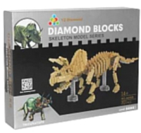 Конструктор YZ-Diamond Triceratops / 66508 -