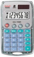 Калькулятор Rebell RE-Starlet BX (8р, серый) -