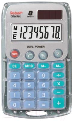 Калькулятор Rebell RE-Starlet BX (8р, серый)