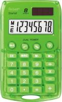 Калькулятор Rebell RE-STARLETG BX (8р, зеленый) -