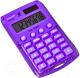 Калькулятор Rebell RE-STARLETV BX (8р, фиолетовый) -