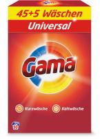 Стиральный порошок GAMA Универсальный в коробке (3.25кг) -
