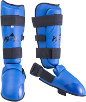 Защита голень-стопа KSA Force (L, синий) -