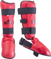 Защита голень-стопа KSA Force (L, красный) -