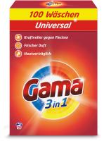 Стиральный порошок GAMA Универсальный в коробке (6.5кг) -
