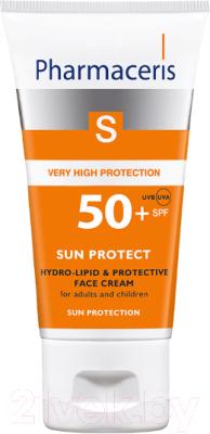 Крем солнцезащитный Pharmaceris S гидролипидный защитный SPF50+ (50мл)