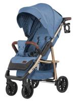 Детская прогулочная коляска Baby Tilly Eco T-166 (Azure Blue) -