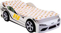 Стилизованная кровать детская Бельмарко Супра / 1253 (белый) -