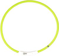 Ошейник Duvo Plus 1270013/DV (нейлоновый, светящийся, зеленый) -