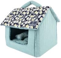 Домик для животных Pinkaholic Zinnia House / NASA-AU7406-NY-FR (голубой) -