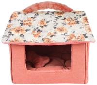 Домик для животных Pinkaholic Zinnia House / NASA-AU7406-IV-FR (розовый) -
