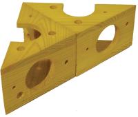 Игрушка для животных Rosewood Сыр трансформер / 19276/RW (желтый) -