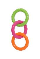 Игрушка для животных Rosewood Три кольца / 40325/RW (мультиколор) -