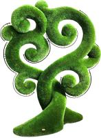 Каркасное топиари F3DF Дерево счастья (2.9x1.4x2.3) -