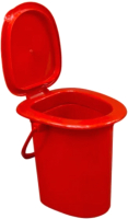 Ведро-туалет ZETA ПЛ-012366 (с крышкой) -