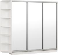 Шкаф Империал Тетрис ЗЗЗ 210x240 (белый жемчуг) -
