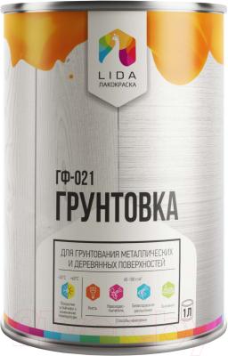 Грунтовка Lida ГФ-021 Л