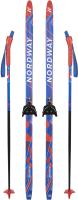 Комплект беговых лыж Nordway DXT001MX14 / A20ENDXT001-MX (р-р 140, мультицвет) -
