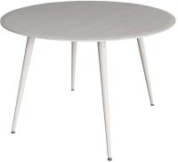 Обеденный стол Аквилон Прага-3 (лайн вайт/белый) -