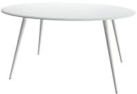 Обеденный стол Аквилон Прага-4 (лайн вайт/белый) -
