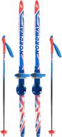 Комплект беговых лыж Nordway DXT008MX10 / A20ENDXT008-MX (р-р 100, мультицвет) -