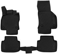 Комплект ковриков для авто ELEMENT CARVLK00001 для Volkswagen Passat B8 (4шт) -