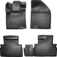 Комплект ковриков для авто ELEMENT Element3D02286210K для Geely SX11 (4шт) -