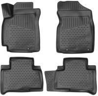 Комплект ковриков для авто ELEMENT ELEMENT3D7519210K для Geely Emgrand X7 (4шт) -