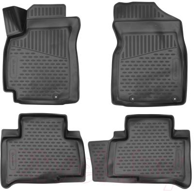Комплект ковриков для авто ELEMENT ELEMENT3D7519210K для Geely Emgrand X7 (4шт)