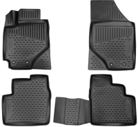 Комплект ковриков для авто ELEMENT Element3D02033210K для Geely Emgrand 7 (4шт) -