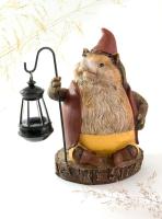Садовая фигура-светильник Чудесный Сад 535 Еж с фонарем -