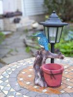 Садовая фигура-светильник Чудесный Сад 620 Зимородок -
