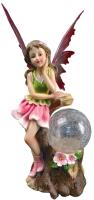 Садовая фигура-светильник Чудесный Сад 646 Фея Эмилия -