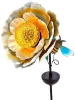 Садовая фигура-светильник Чудесный Сад 684-Y Пион -