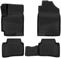 Комплект ковриков для авто ELEMENT Element3D2065210 для Hyundai Solaris (4шт) -