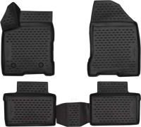 Комплект ковриков для авто ELEMENT CARLD00001K для Lada Vesta (4шт) -
