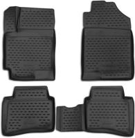 Комплект ковриков для авто ELEMENT Element3D2563210 для Kia Rio/Hyundai Solaris (4шт) -
