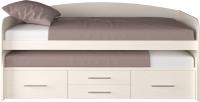 Двухъярусная кровать Артём-Мебель СН 108.02 (сосна арктическая) -