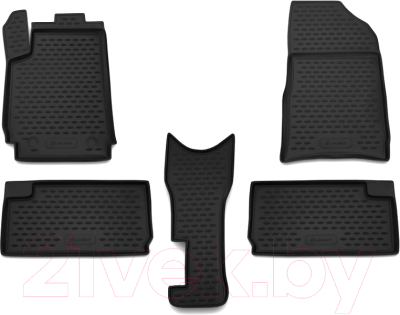 Комплект ковриков для авто ELEMENT NLC.10.05.210K для Citroen Xsara Picasso (5шт)