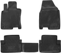 Комплект ковриков для авто ELEMENT CARNIS00021 для Nissan Quashqai (4шт) -