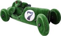 Каркасное топиари F3DF Черепаха в ретро автомобиле (1.3х3.6х1.6) -