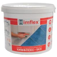 Клей для плитки Himflex 5-КХ химически стойкий (5кг, белый) -